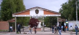 Universidad san cristobal de huamanga