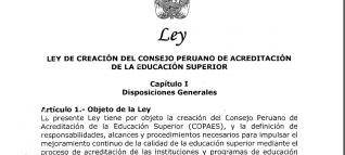 ley acreditación